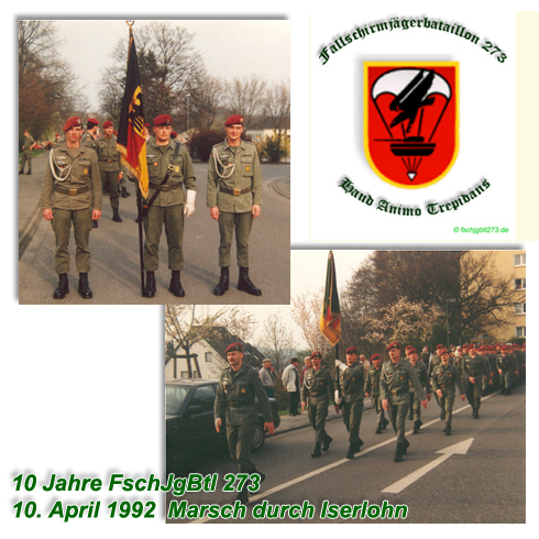 BWTropen 4 Kp FschJgBtl 313 Fallschirmjäger Bataillon original BW #14955